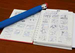 Storyboard / A picture of simple storyboard